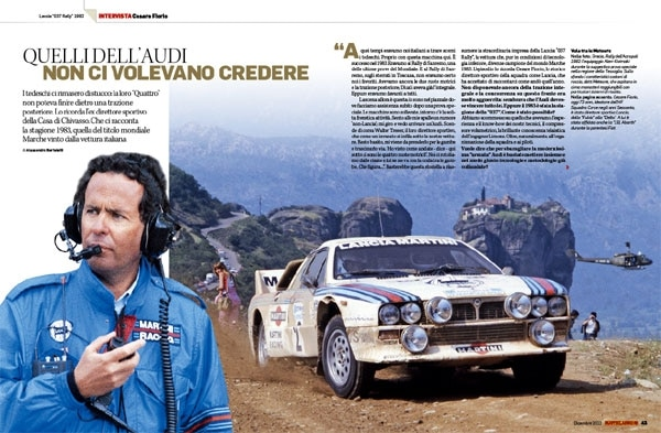 Lancia 037 Rally, intervista Cesare Fiorio