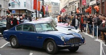 The Regent Street Motorshow - London