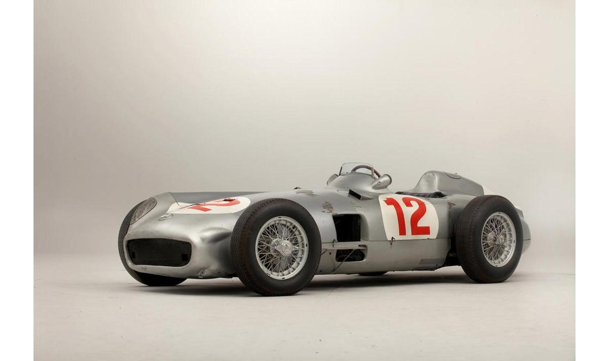 Mercedes W196R del 1953 ex Manuel Fangio