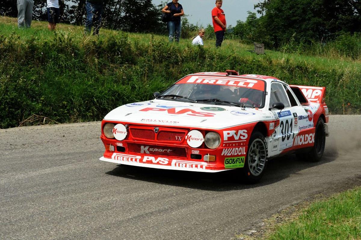 Pedro  Emanuele Baldaccini (Rally Club Sandro Munari  Lancia Rally 037 # 301)