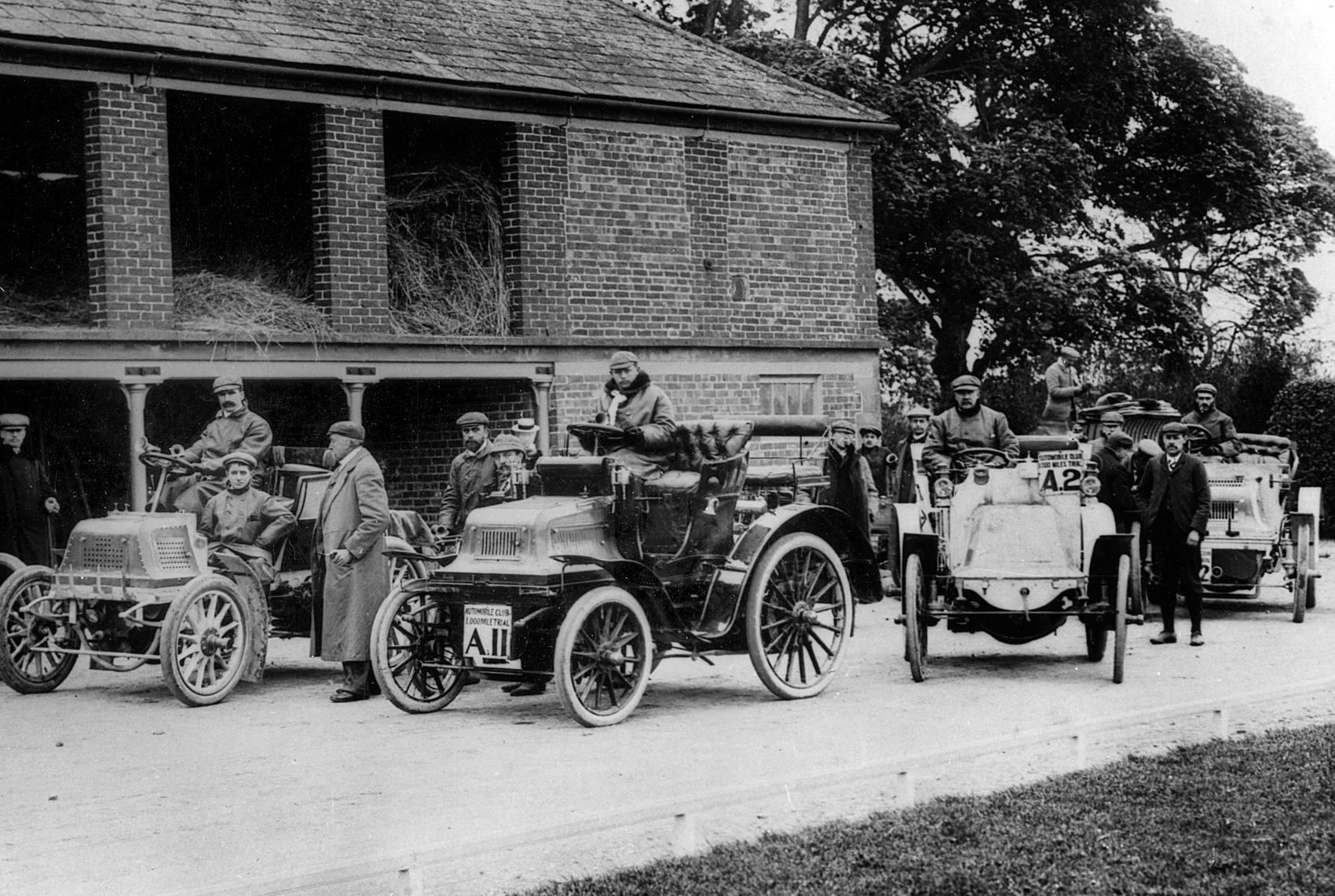 John Scott Montagu 1899 Daimler 1000 Mile Trial 1900