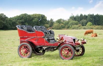 Lot 106 - 1904 Winton 4,5 litre 20hp Two-Cylinder Detachable Rear-Entrance Tonneau
