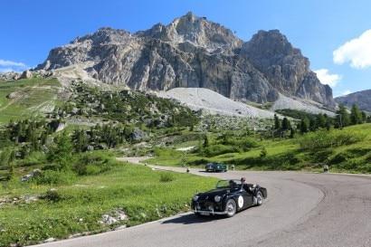 I vincitori _Mozzi-Biacca su Triumph TR2 del 1955OK