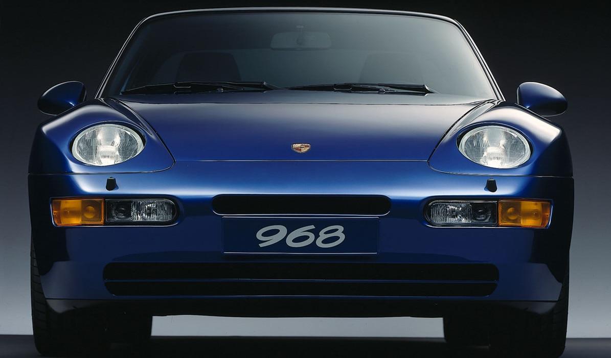 Porsche968Front