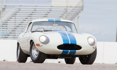 1 - 21963 Jaguar E-Type Lightweight sold for $7,370,000 (Bonhams)