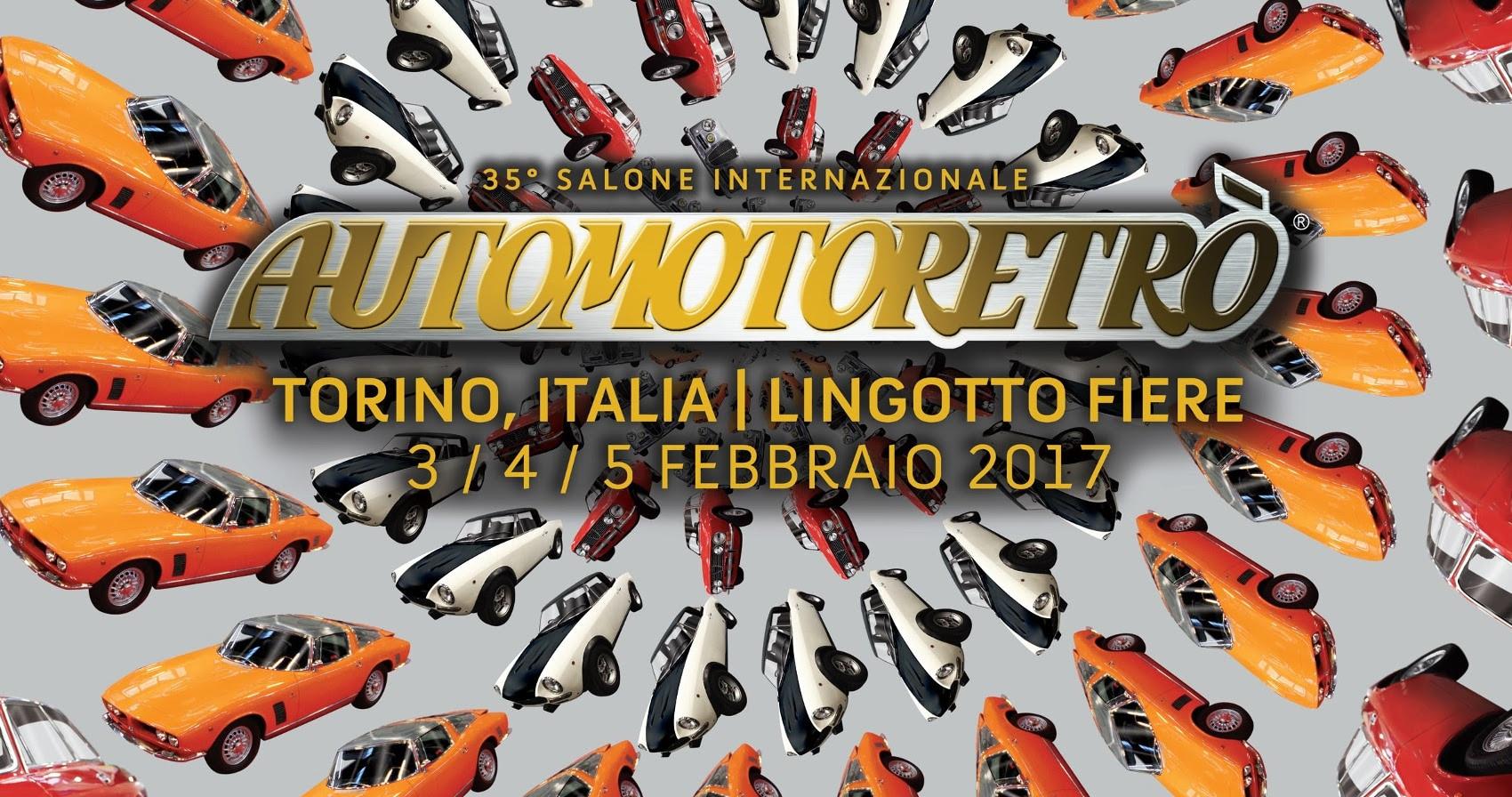 Automotoretrò, inizia il countdown a Torino