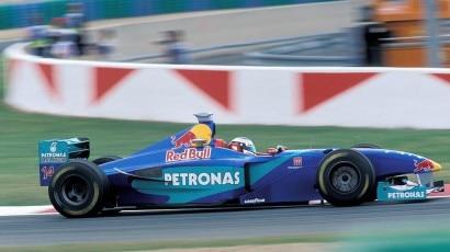 3 Sauber Jean Alesi 1998