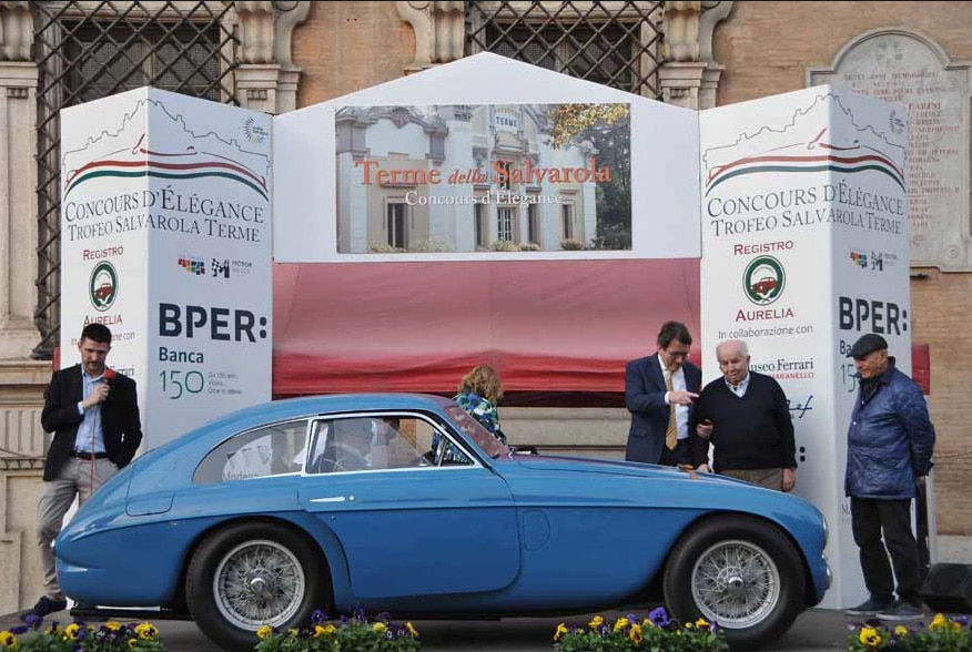 best of show 1_ferrari 166 berlinetta MM Touring 1950