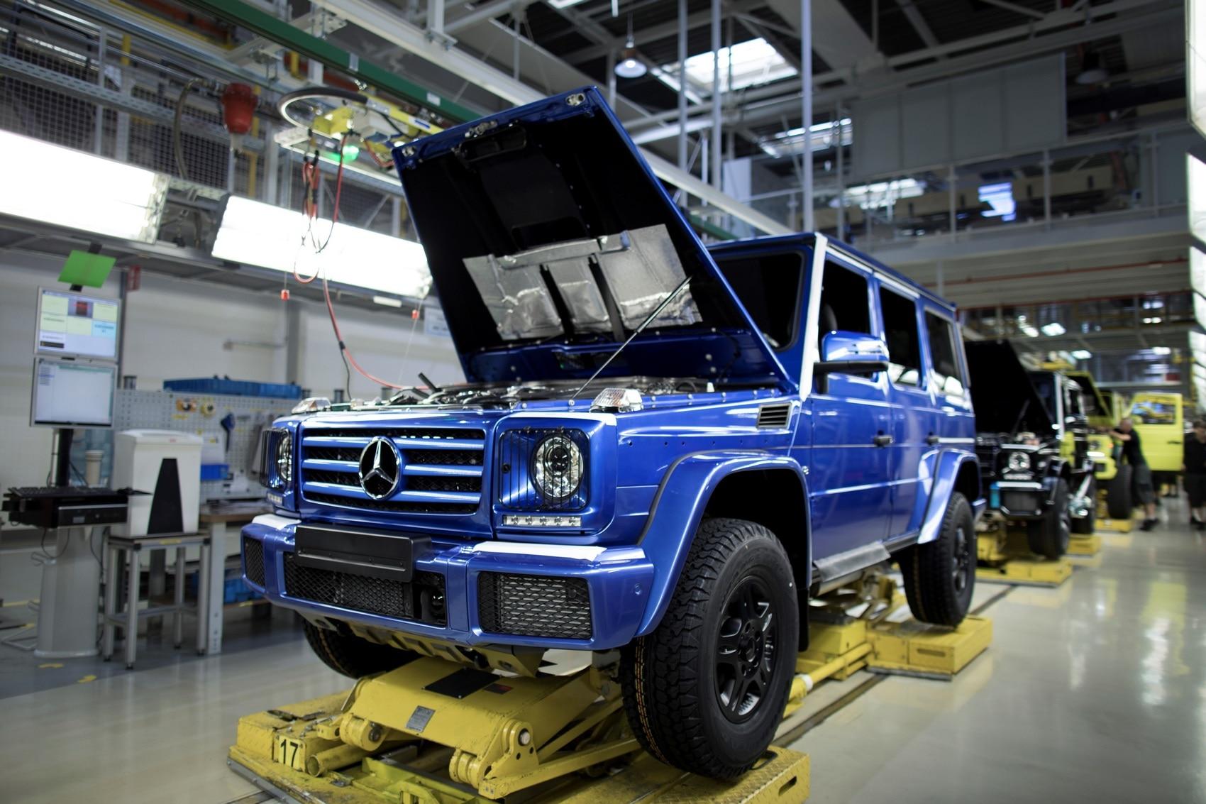 Mercedes Classe G prodotto l esemplare numero 300 000
