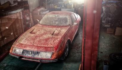 1969 Ferrari 365 GTB-4 Daytona Berlinetta Alloy RM