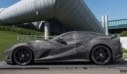Ferrari 812 Superfast Wind Tunnel Model, Scale 1-2 RM