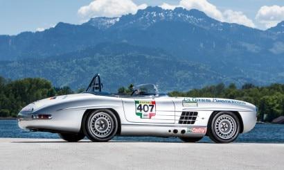 Mercedes-Benz 300 SL Roadster 1957 aux spécifications de compétition SLS Carrosserie aluminium BC