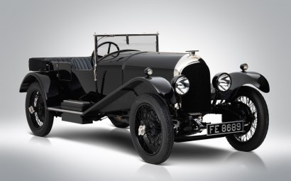 3- Bentley 3-Litre « Red Label » Speed Model Tourer 1926