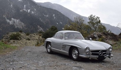 5 1955 Mercedes-Benz 300 SL Papillon