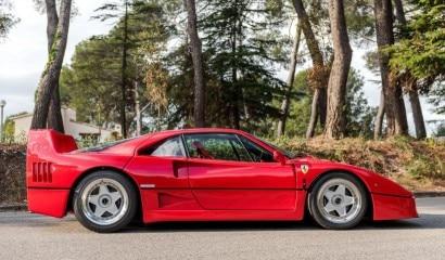 6 1990 Ferrari F40