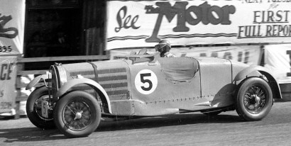 Bugatti Type 57 3,3 litres Torpedo Tourist Trophy 1935