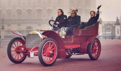 Fiat Type 24-32 tonneau avec entree par l'arriere 1904