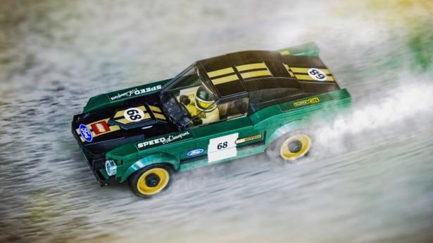 Mustang Bullitt, ci si mette anche la Lego