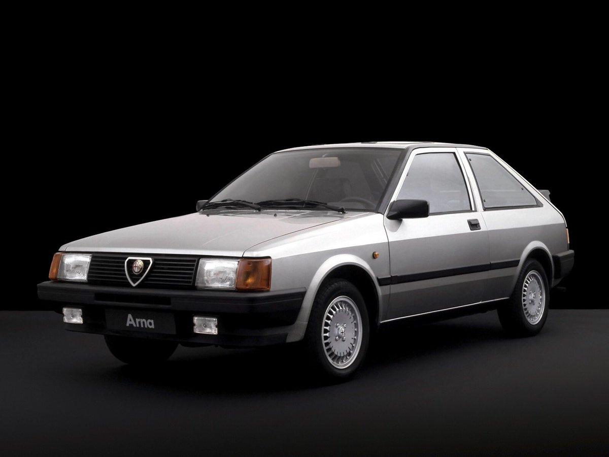 on 1983 Alfa Romeo Spider