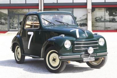 1952 Fiat 500 C (Fiat), telaio n. 366836, motore n. 371611
