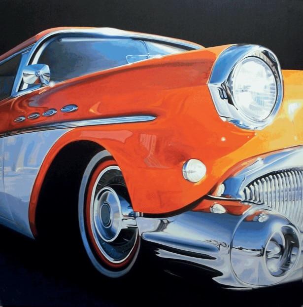 """[Motoring art] """"La mia vernice è la luce"""""""