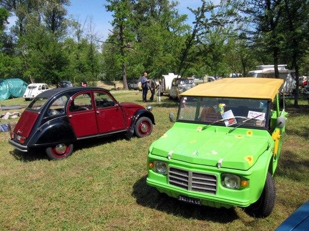 Citroën Mehari, festa per i 50 anni nel Lodigiano