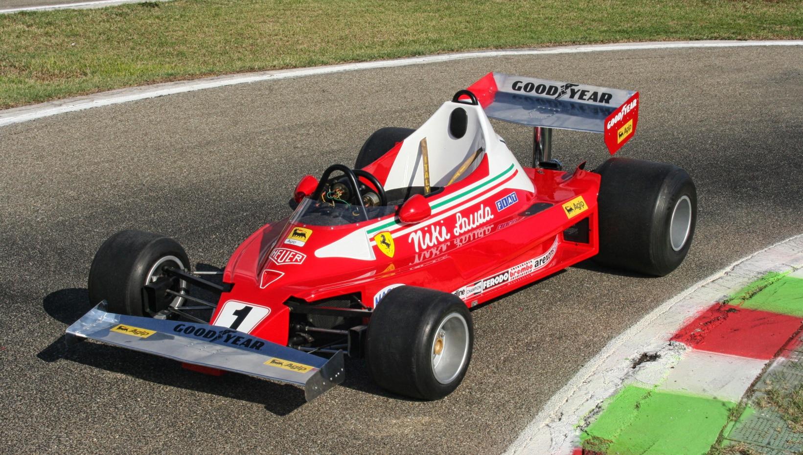 1977 Italy Car Ferrari 312T2 Formula 1