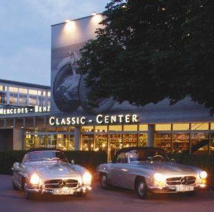 25 candeline per il mercedes benz classic center for Mercedes benz classic center california