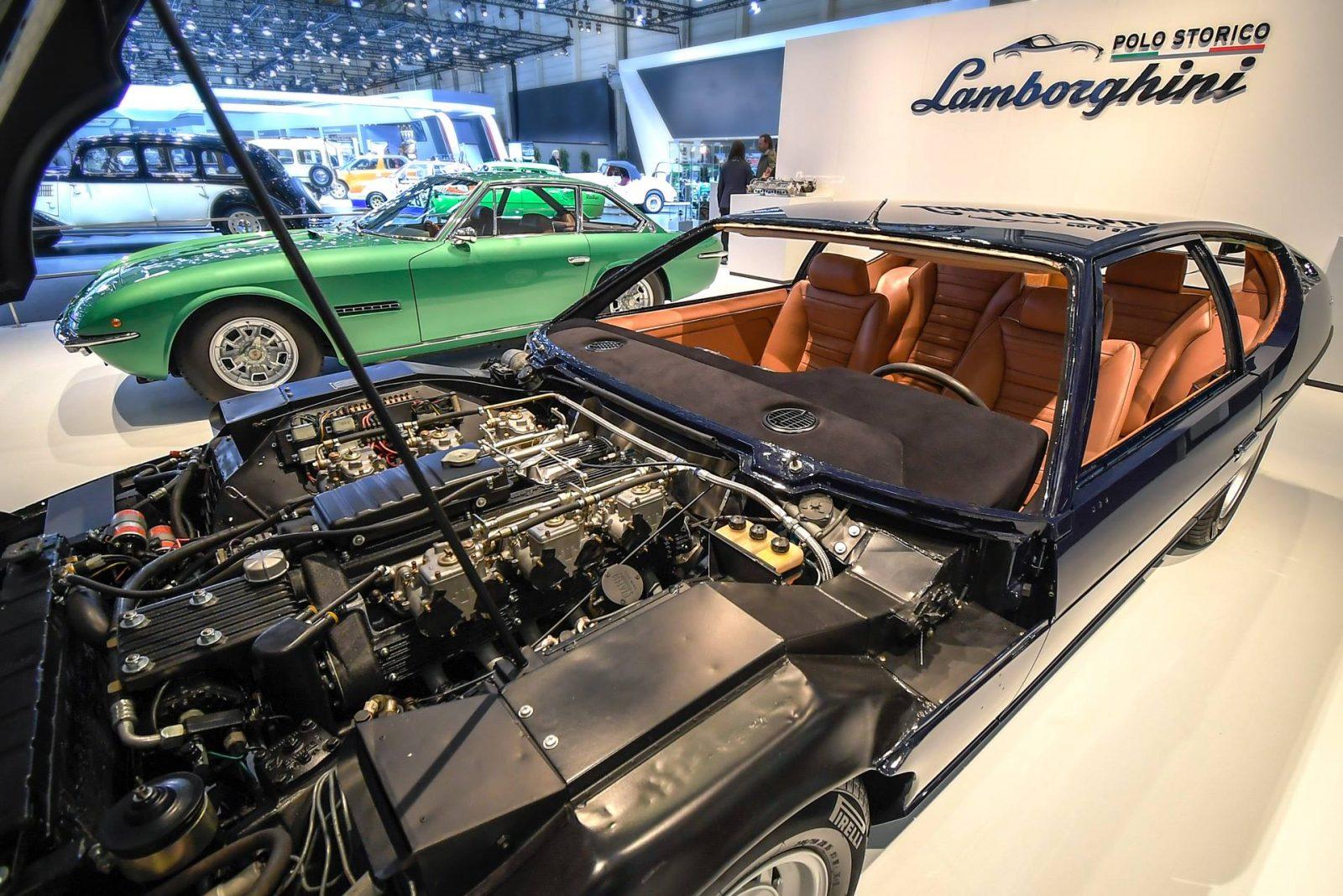Lamborghini Espada e Islero, un tour per i cinquant'anni