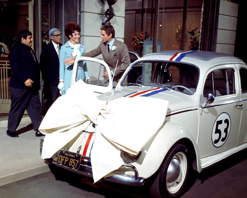 Herbie, compie 50 anni il Maggiolino tutto matto