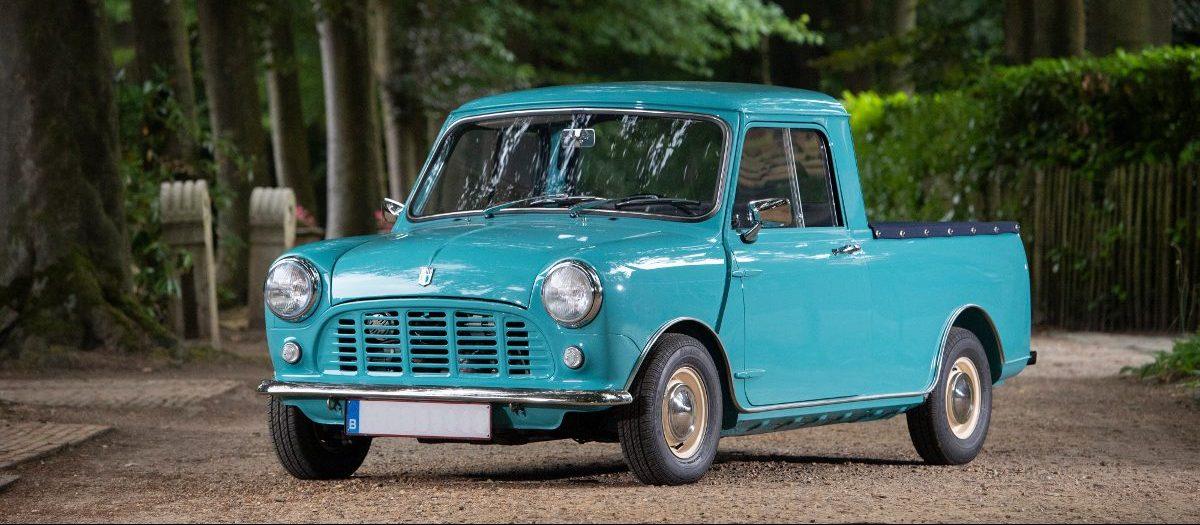 Bonhams, a Padova all'asta una rara Mini pick-up