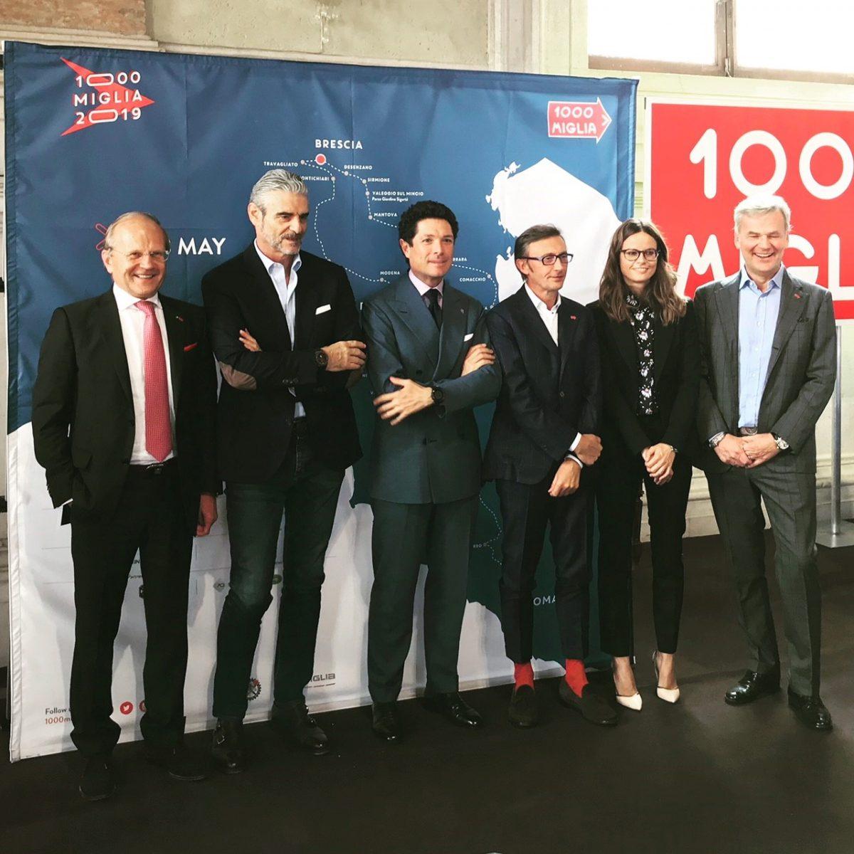 Mille Miglia, presentata l'edizone 2019 tra conferme e novità