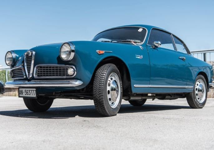 Alfa Romeo Giulia 1300 Sprint, 1962 – Stima € 42.000 – 52.000