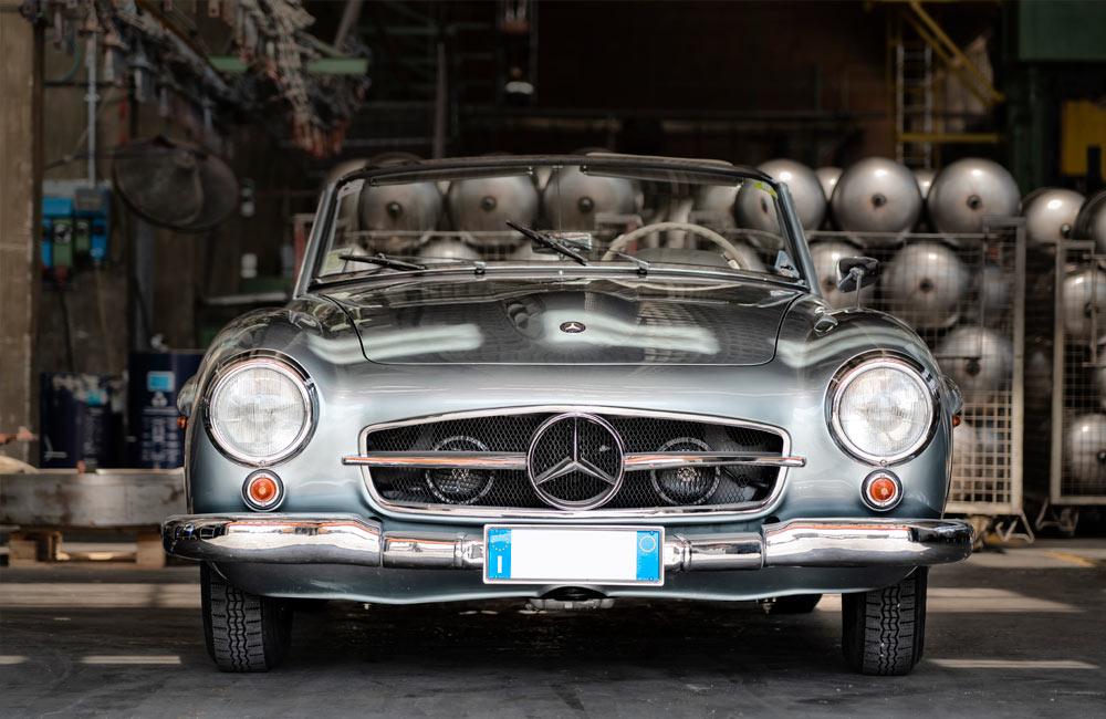 Mercedes Benz 190 SL W121B II, 1956 – Stima € 90.000 – 120.000
