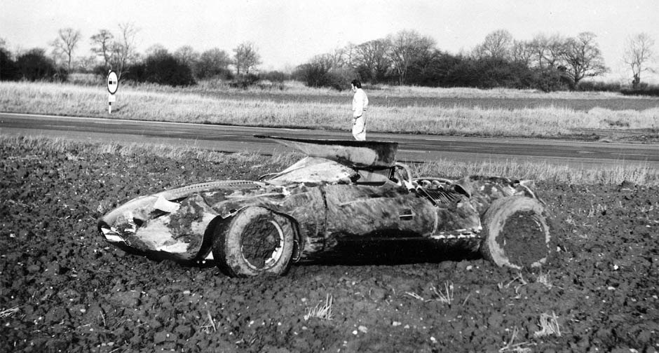 jaguar xj 13 dopo l'incidente al MIRA
