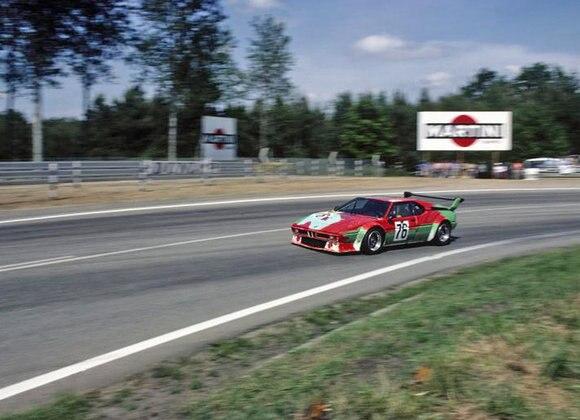 BMW Art Car #4 impegnata a Le Mans 1979 - Immagine da Ruoteclassiche
