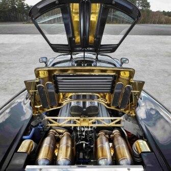 McLaren F1, il rivestimento termoisolante in oro