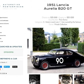 Automotive Masterpieces di Sandro Binelli